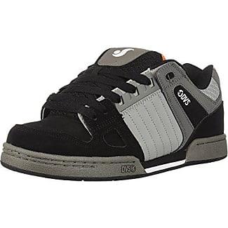 DVS Enduro 125, Chaussures de Skateboard Homme, Gris (Charcoal Black Nubuck), 44 EU