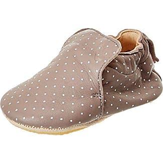 Easy Peasy Blublu Fleur, Zapatillas de Estar por Casa para Bebés, Blanc (Blanc), 24 EU