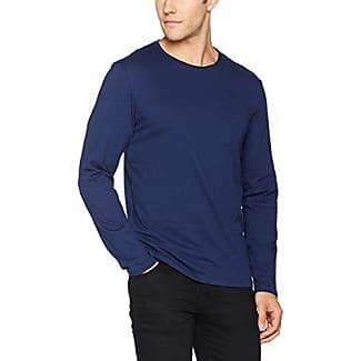 087cc2k016, Camisa Manga Larga para Hombre, Azul (Navy 400), Large EDC by Esprit