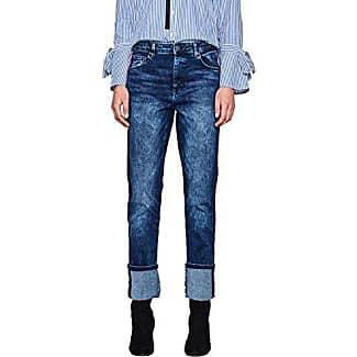 EDC by Esprit 087cc1b042, Jeans Ajustados para Mujer, Azul (Blue Medium Wash 902), W26/L34