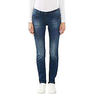 EDC by Esprit 057cc1b008, Jeans Mujer, Azul (Blue Bleached), W30 (Talla del Fabricante: 30)