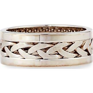 Eli Jewels Gents Braided Platinum & 18K Gold Wedding Band Ring LZSkxDqyF
