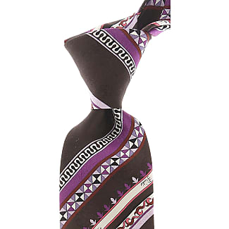 Ties On Sale, Lilac, Silk, 2017, one size Emilio Pucci