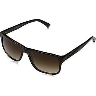 Emporio Armani Unisex-Erwachsene 4002 Sonnenbrille, Schwarz (Red 505313), 55
