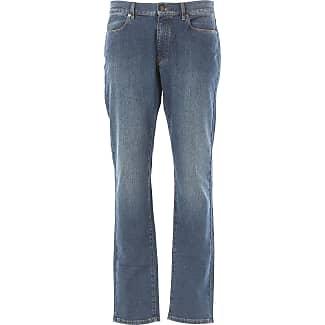 Pantalones de Hombre, Pantalón Baratos en Rebajas Outlet, Azul, Algodon, 2017, 48 54 Blauer