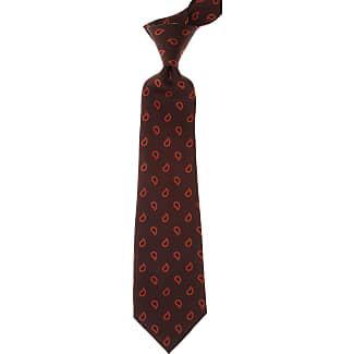 Ties On Sale, Green Melange, Silk, 2017, one size Kiton