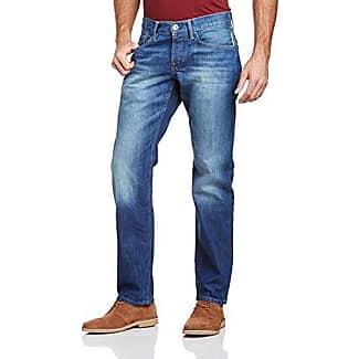 EDC by Esprit Mens 994CC2B919 SELVDG Denim Straight Jeans EDC by Esprit S9OWlb