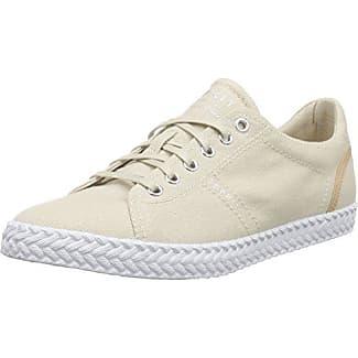Esprit Simona Lace Up, Zapatillas para Mujer, Gris (Light Grey), 36 EU