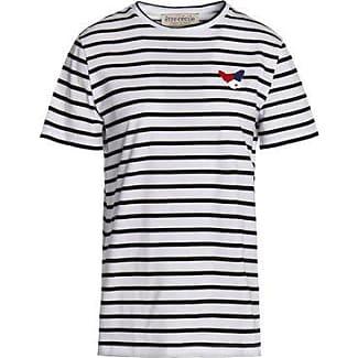 Real Sale Online Huge Surprise Être Cécile Woman Appliquéd Striped Cotton-poplin Shirt Light Blue Size L être cécile Discount Excellent MhtC1Be