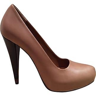 Pre-owned - Leather heels Fendi 7B1fk