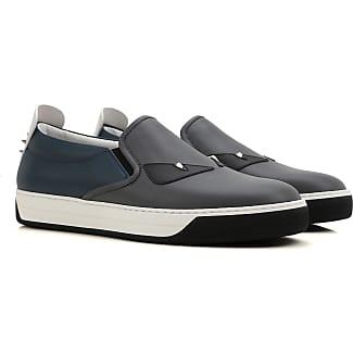 Slip on Sneakers for Women On Sale, Copper, Leather, 2017, 2.5 3.5 4 Fendi