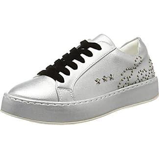 FEAC011, Zapatillas para Mujer, Plateado (Silver Silver), 40 EU Fiorucci