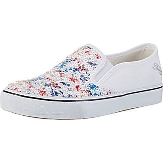 FEPB007, Zapatillas para Mujer, Blanco (Bianco Bianco), 37 EU Fiorucci