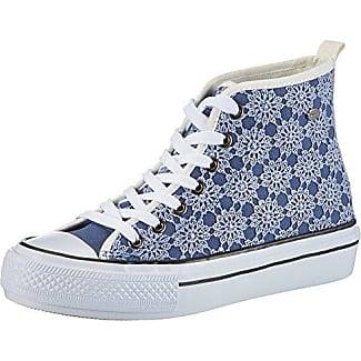FEPE024, Zapatillas Altas para Mujer, Blanco (Bianco), 40 EU Fiorucci