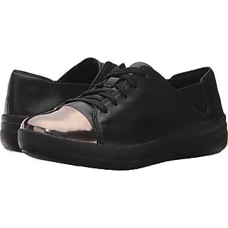 Fitflop Sneaker Elastic Panel? Baskets Fitflop Panneau Élastique? Patent Leather Black Zwart Cuir Verni Noir Zwart 7fI99Ikw
