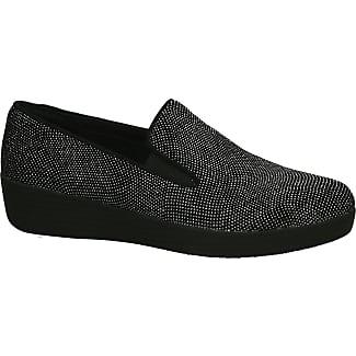 Nubuck Chaussures Basses Femmes Fitflop - Bleu - 41 Eu CTids