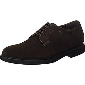 Fratelli Rossetti 44725, Zapatos de Cordones Derby Para Hombre, Marrone (Testa Di Moro), 42 EU