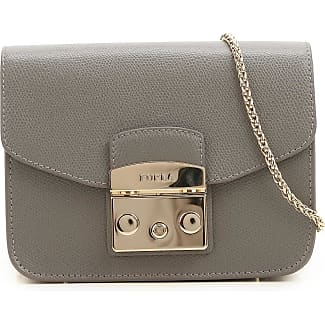 Womens Pouch On Sale, Metropolis, Petal White, Leather, 2017, one size Furla