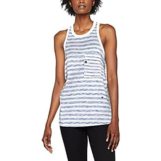 G-Star Ostali R Wmn Tanktop, Camiseta para Mujer, Multicolor (Imperial Blue/Black Strip 8615), Small