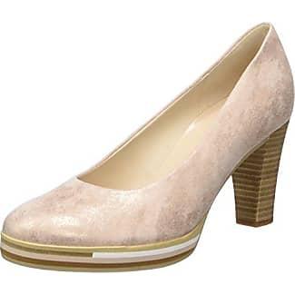 Fashion, Zapatos de Tacón para Mujer, Beige (Dark Nude/Visone 14), 40.5 EU Gabor