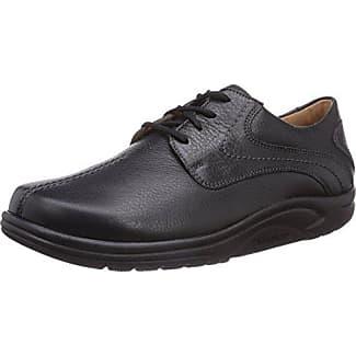 Ganter Sensitiv Karin-K, Zapatos de Cordones Derby para Mujer, Negro (Schwarz 0100), 35 EU