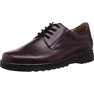 Ganter Aktiv Guido, Weite G - Zapatos De Cordones para Hombre, Grau (Schwarz 0100), 50
