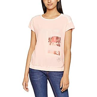 Garcia Jeans Garcia J70206, Camiseta para Mujer, Mehrfarbig (Black 60), 40