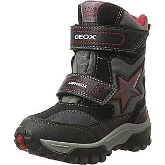 Geox JR Elvis B, Zapatillas Altas para Niños, Gris (Grey/LT GREYC1318), 36 EU