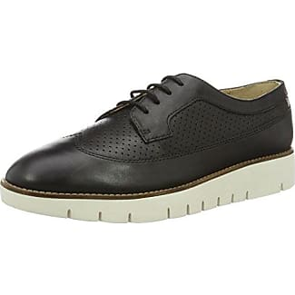 Geox D Marlyna C, Oxford Chaussures À Lacets Pour Les Femmes, Noir (noir), 37 Eu