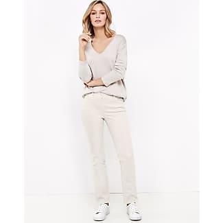 Five-pocket trousers, Irina ecru-beige female Gerry Weber