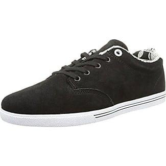 Los Angered, Chaussures de skate homme - Noir (10973 Black Fg), 45 EU (11.5 US)Globe