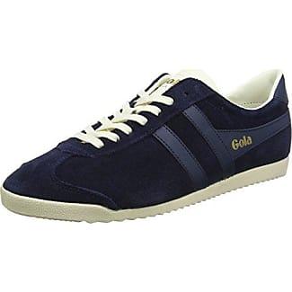 Gola Bullet Suede, Zapatillas para Hombre, Azul (Navy/Tobacco), 44 EU