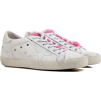 Sneakers for Women On Sale, fuxia, Leather, 2017, 2.5 3.5 4.5 5.5 7.5 Golden Goose