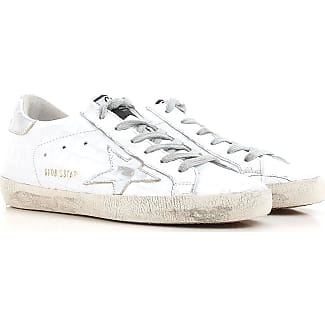 Sneakers for Women On Sale, Wrinkled White, Leather, 2017, 2.5 3.5 4.5 5.5 7.5 Golden Goose