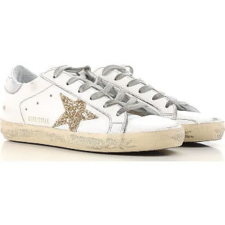 Sneakers for Women, Cyclamen Pink, Glittered Leather, 2017, 2.5 3.5 4.5 5.5 7.5 Golden Goose