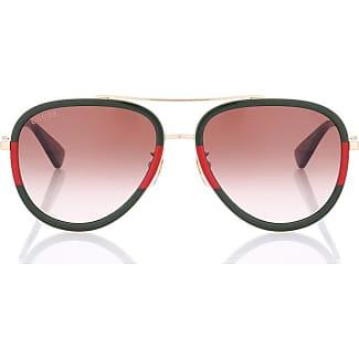 Gucci Injected Sonnenbrille aus orangefarbenem Acetat 18aqY56Pm9