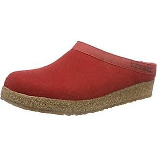 Haflinger Everest Pia, Zapatillas de Estar por Casa para Mujer, Rojo (Rubin 11), 37 EU