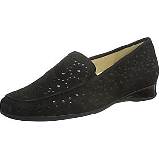 Petra, Weite G - Mocasines Mujer, Color Negro, Talla 38 Hassia