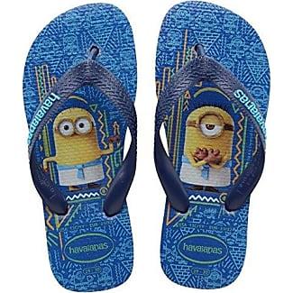 Havaianas Simpsons, Chanclas Estampadas Unisex Niños, Multicolor (Ice Grey 3498), 33/34 EU (31/32 Brazilian)