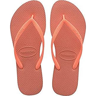 Havaianas Haut, Sandales Adulte, Orange Unisexe (orange Fluo 5206) 41/42 Eu (39/40 Brazilian)