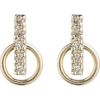 Hirotaka Deco Diamond Small Hoop Earrings g0cK0xpVok