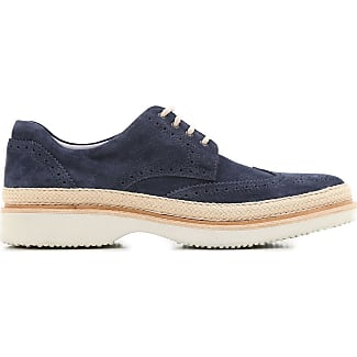 Sneakers for Men On Sale in Outlet, Navy Blue, suede, 2017, 6 6.5 Hogan