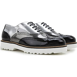 Sneakers for Women On Sale, Grey, Suede leather, 2017, 5.5 Hogan
