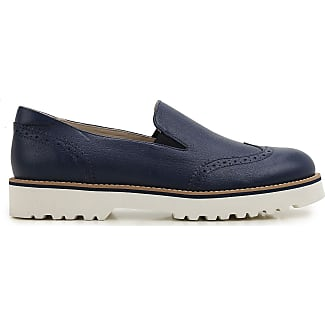 Slip on Sneakers for Women On Sale, Blue, Leather, 2017, 3 3.5 5.5 7 Hogan
