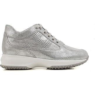Sneakers for Women, Silver, Leather, 2017, 6 7.5 Hogan