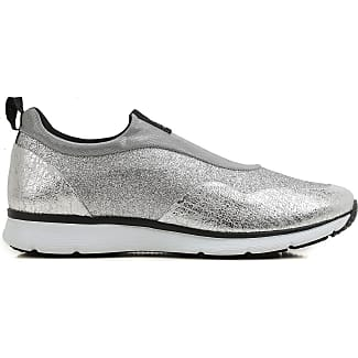 Slip on Sneakers for Women On Sale, Silver, Leather, 2017, 5.5 7.5 Hogan