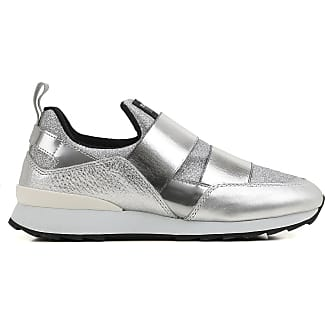 Sneakers for Women On Sale in Outlet, Silver, Suede leather, 2017, 7.5 Hogan