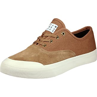 HUF , Chaussures de skateboard pour homme Noir/beige Black - Noir/beige - Black, 42 EU