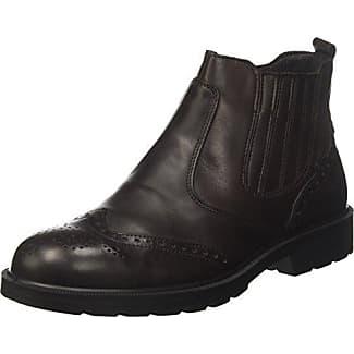 Fred de la Bretoniere Ankle Boot Chealsea Mit Blockabsatz, Bottines Femme, Beige (Taupe 3099), 39 EUFred De La Bretoniere