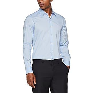 68243, Camisa para Hombre, Azul (Celeste), (Talla del Fabricante: 42) Ingram